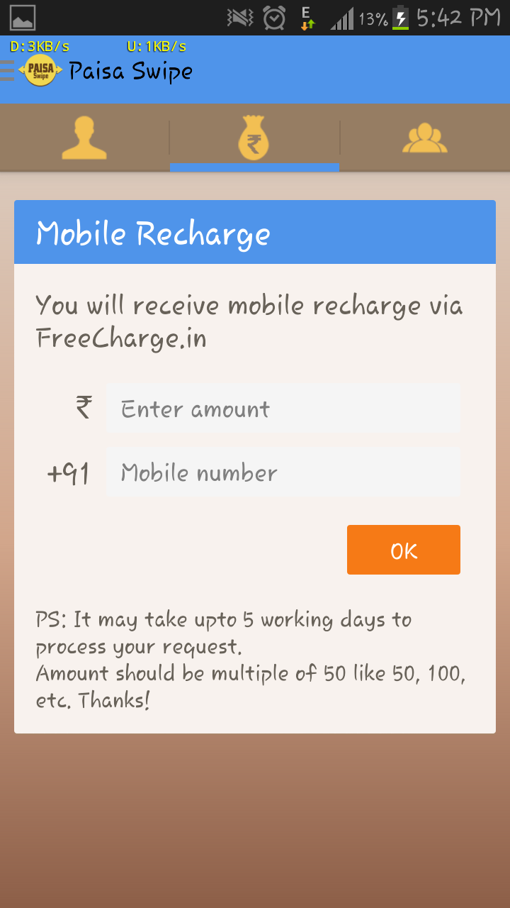 How to Redeem Your Paisa Swipe Voucher Code on Frecharge