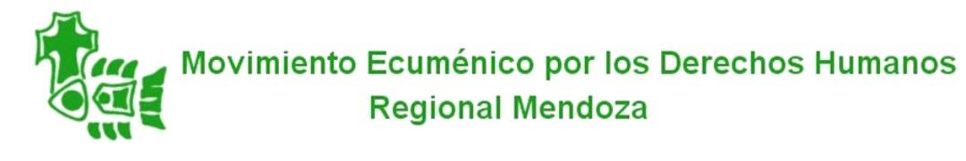 Movimiento Ecuménico por los Derechos Humanos - Regional Mendoza
