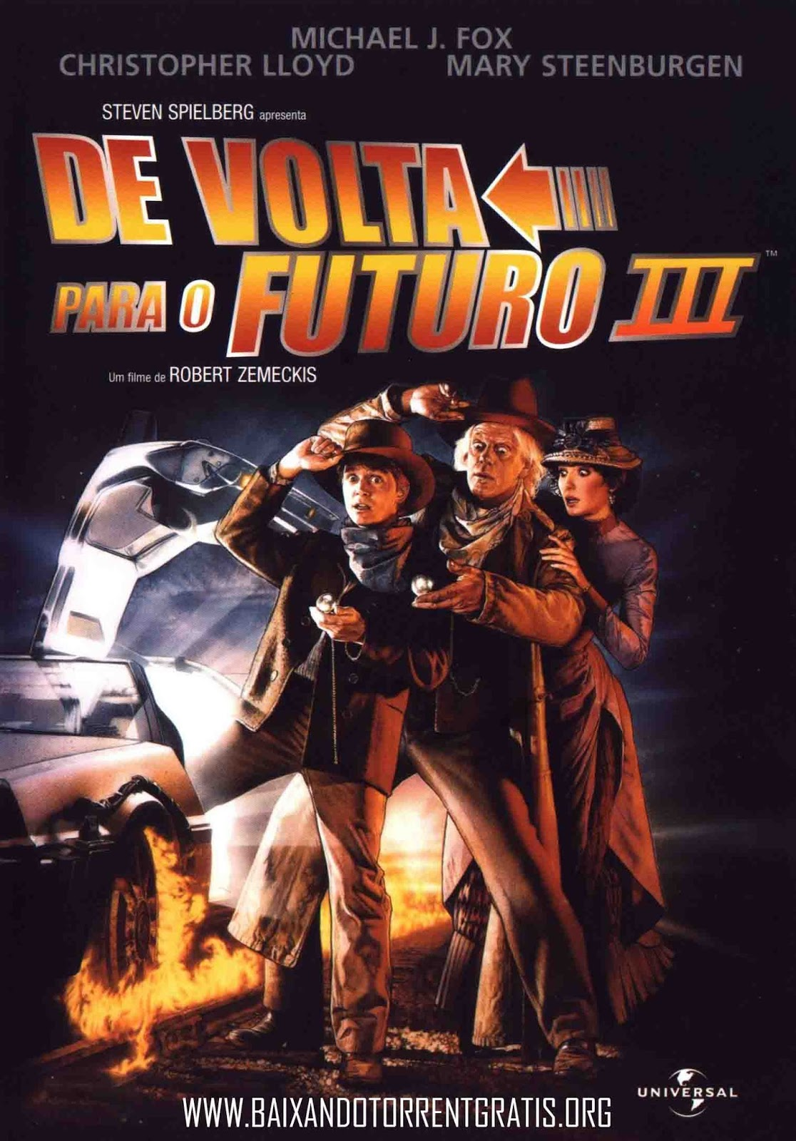 De Volta para o Futuro 3 Torrent – BluRay 720p e 1080p Dual Áudio