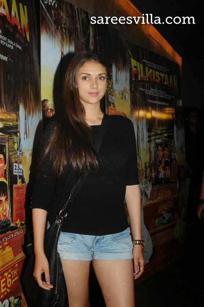 Aditi Rao Hydari At Filmistaan Special Screening