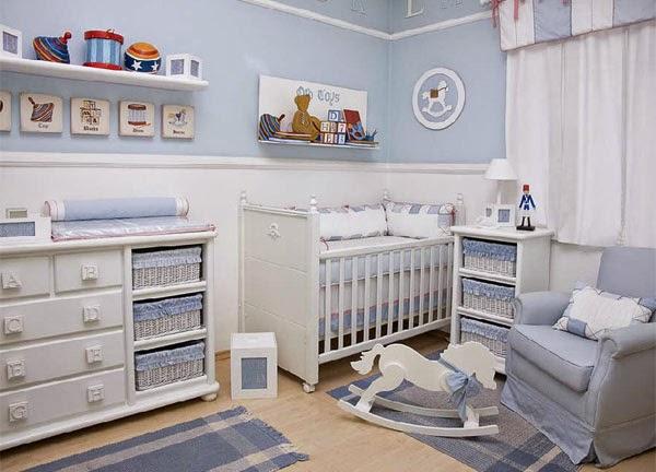 Dormitorio Para Bebes Varones : Colores-para-dormitorios-de-ninos ...
