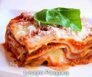 Resep dan Cara Membuat Lasagna Panggang