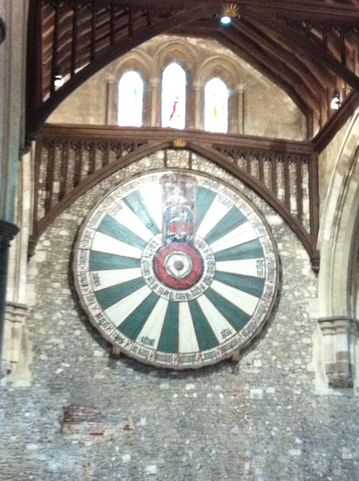 The hidden history of southampton - Round table winchester cathedral ...