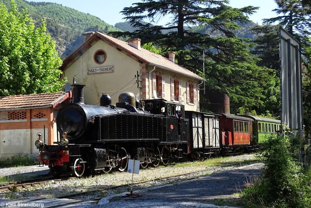 train des pignes start of 2015 season provence heritage railways. Black Bedroom Furniture Sets. Home Design Ideas