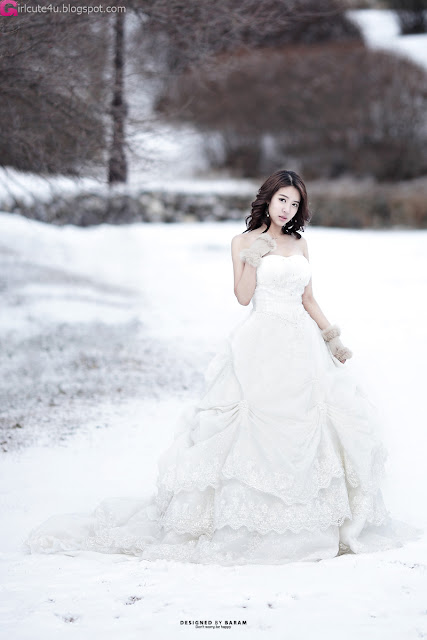 3 Yoon Joo Ha - Snow White-Very cute asian girl - girlcute4u.blogspot.com