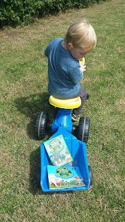 ondeugende spruit wagenpark tractor