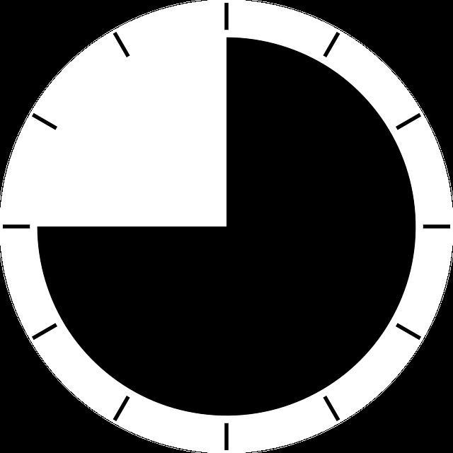 quarter circle transparent