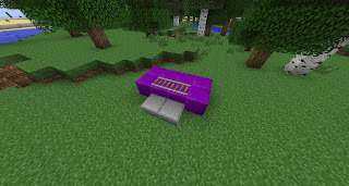 Tutorial how to make a working chair couch in minecraft