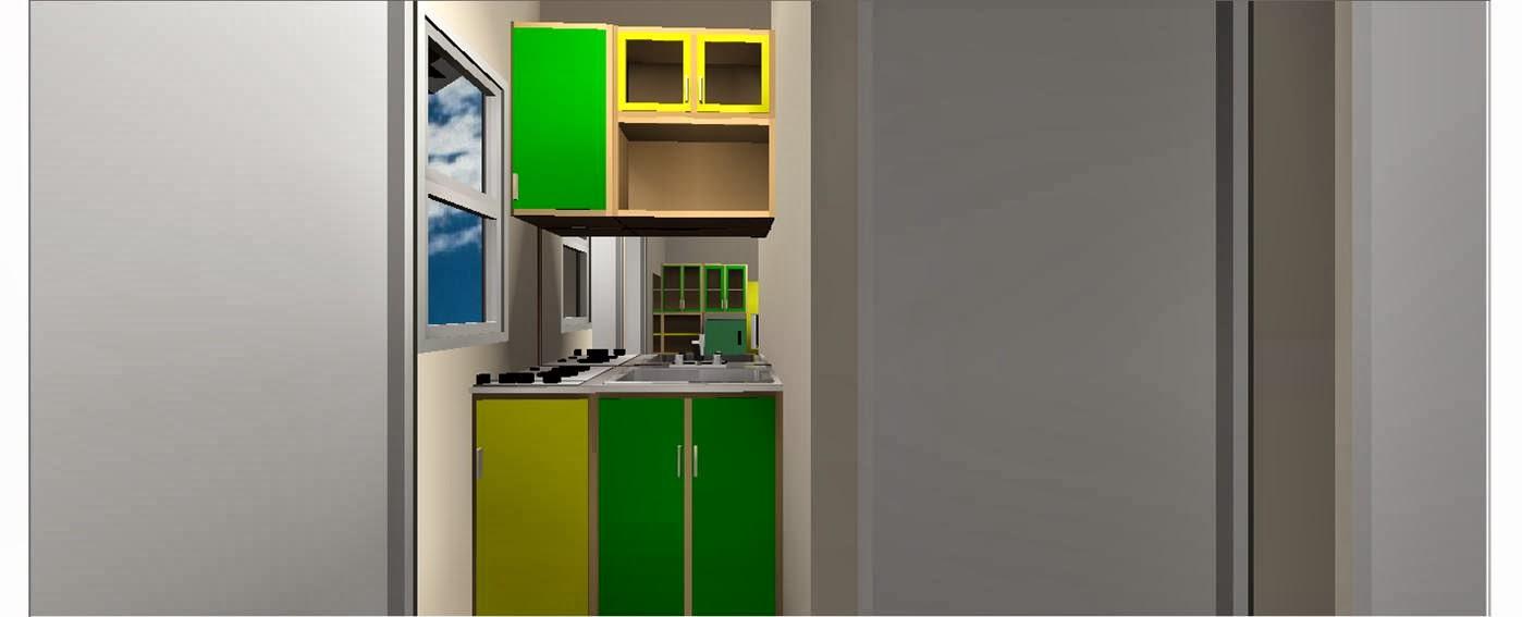desain rumah tipe 25 tanah 60m2 1lantai 2kamar tidur