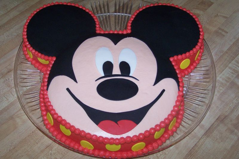 Birthday -colourfull Mickey Mouse cake- Photoshoot ...