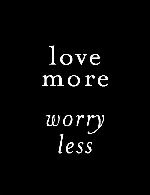 To love more