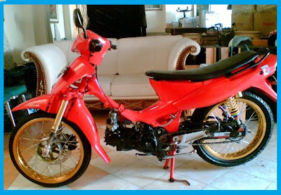 Modifikasi Suzuki Shogun 110_Body Costum Variasi 3-Gambar Foto