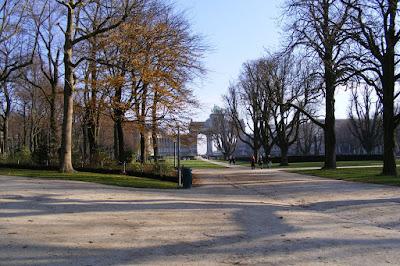 Parc du Cinquantenaire, Bruxelles, Belgia