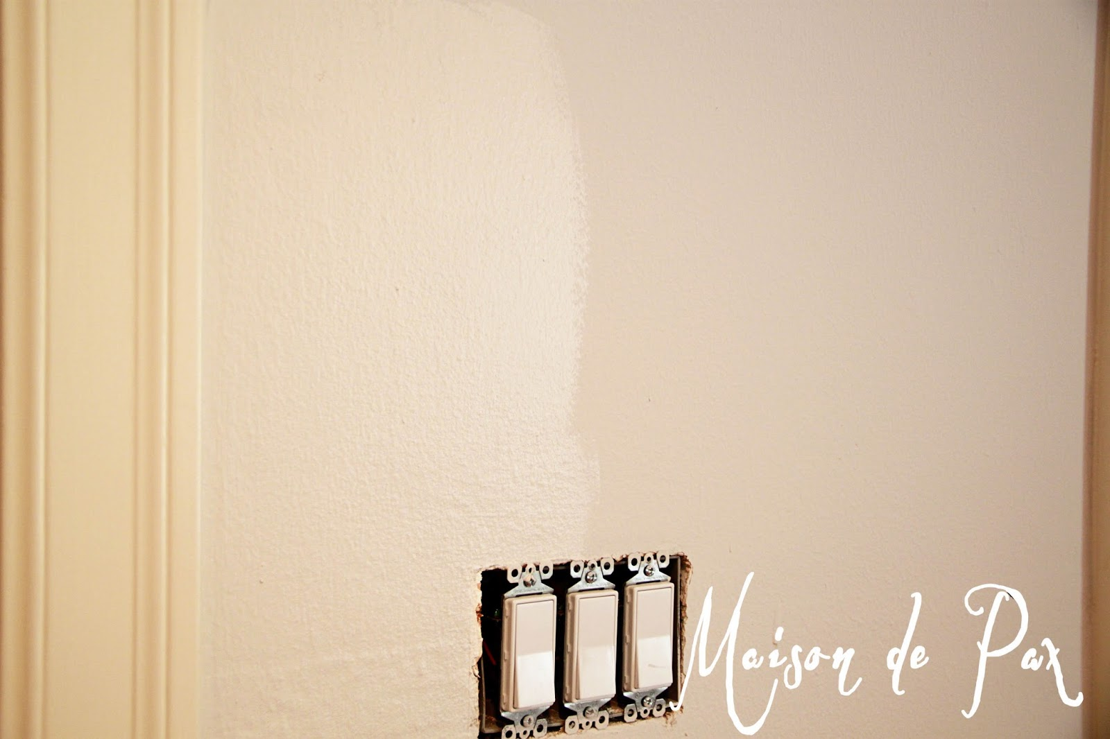 I am a Painter choosing sheen Maison de Pax