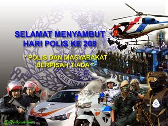 25 MAC- HUT PDRM ke 208