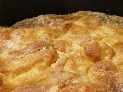 Le moelleux aux pommes de Madame Sioux (voir la recette)