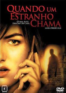 Filme Poster Quando um Estranho Chama DVDRip XviD & RMVB Dublado