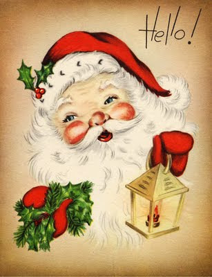 Vintage Santa Images 45