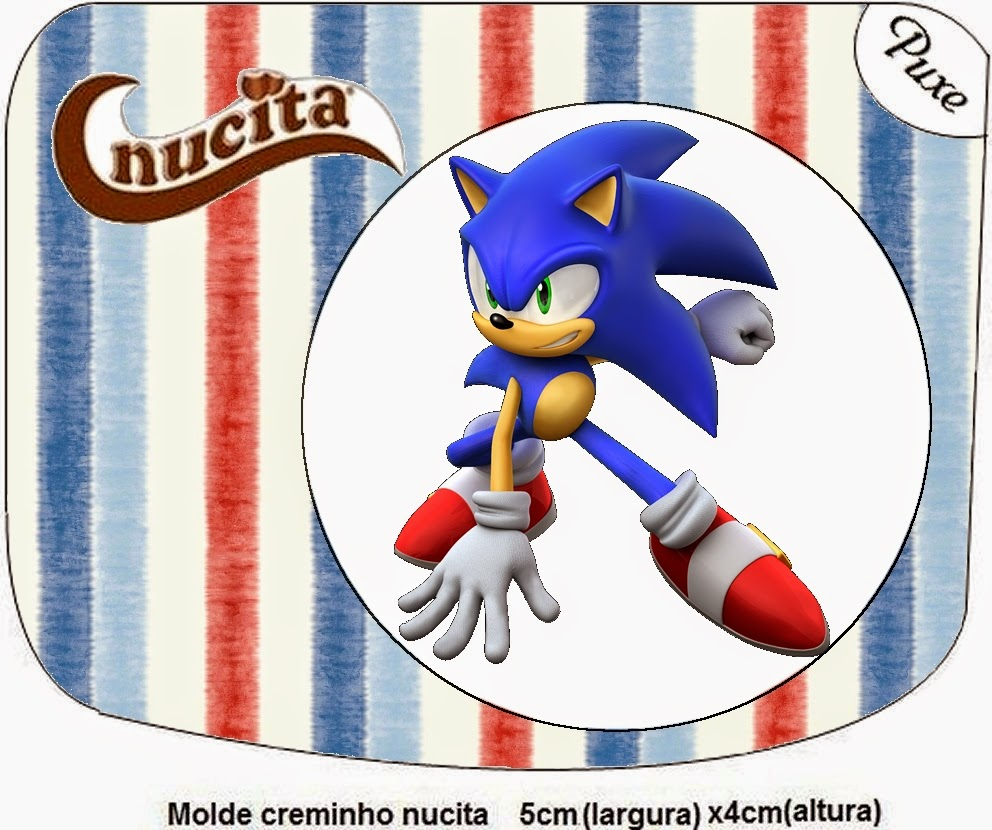 Free Printable Nucita Candy Bar Labels for Sonic.