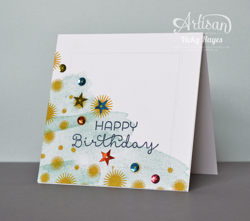Stampin up ideas and supplies from vicky at crafting clares paper with the kit and ive found that it also comes in very handy for your scrapbookingproject life pages and of course for making cards like this one m4hsunfo