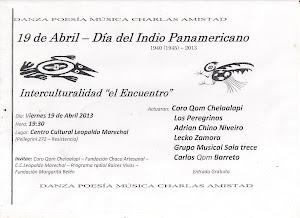 19 de abril dia del indio panamericano