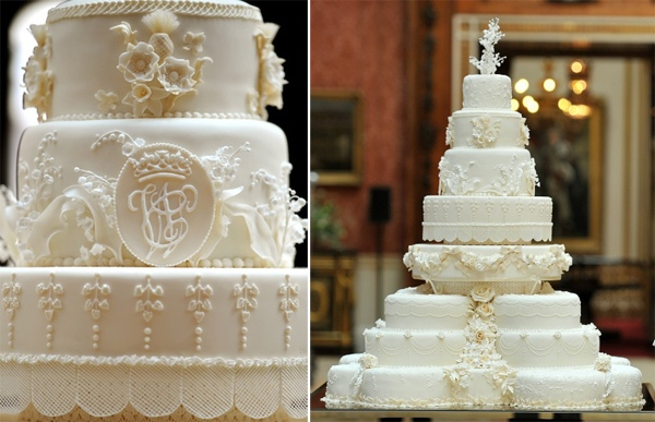 Official royal wedding cake baker Fiona Cairns made 50 extra frosted cakes