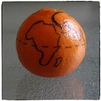 globe on orange 2