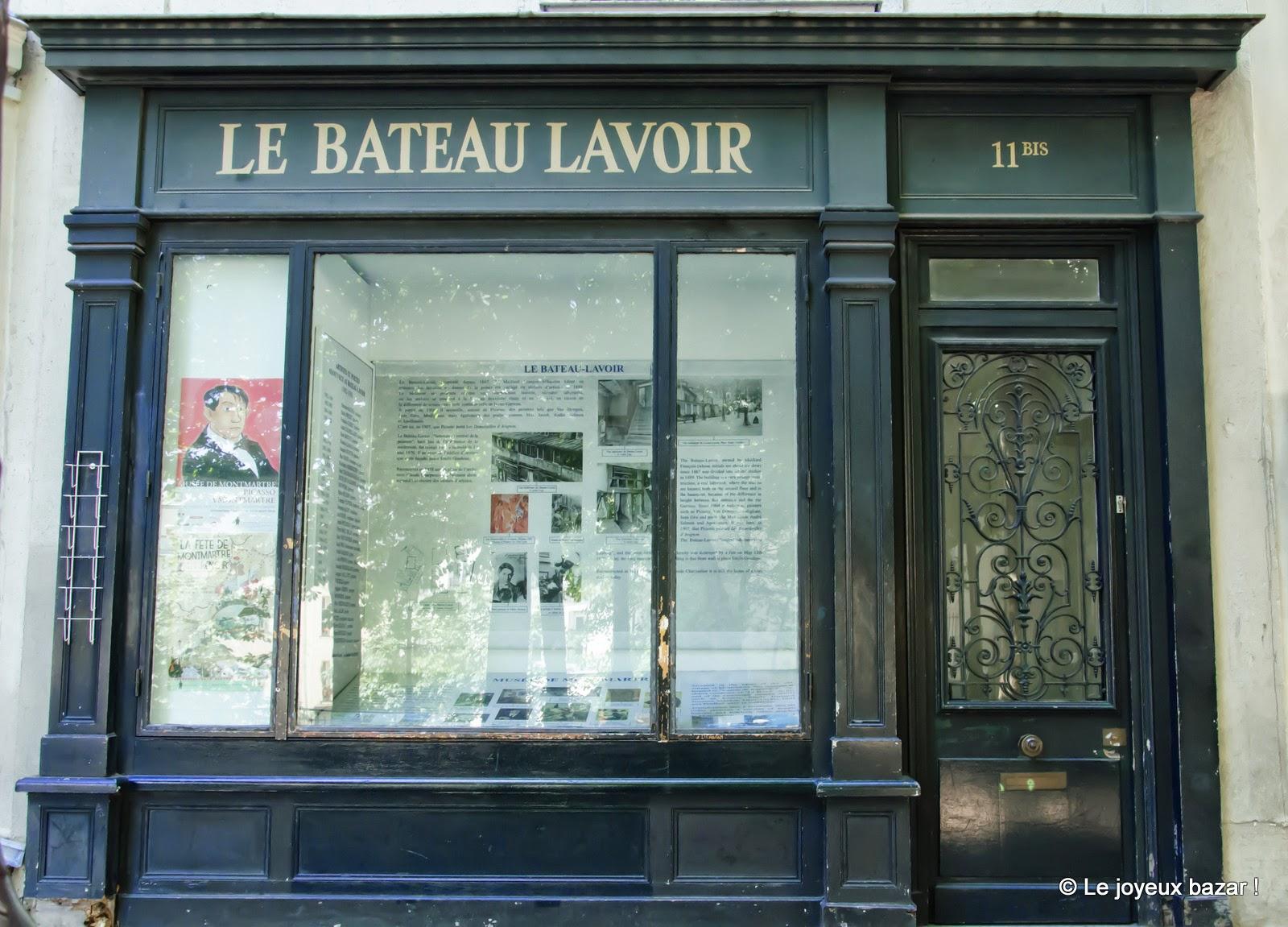 Paris - Montmartre - le Bateau Lavoir