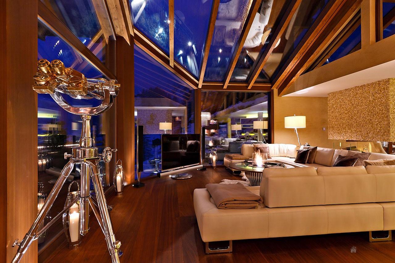 Passion for luxury chalet zermatt peak the premier for Chalet flooring