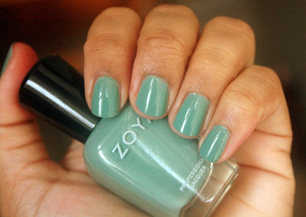 Zoya Nail Polish in Bevin Swatch