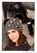 . el lookbook de la colección 47 Street otoño invierno 2013. street gorras tejidas invierno