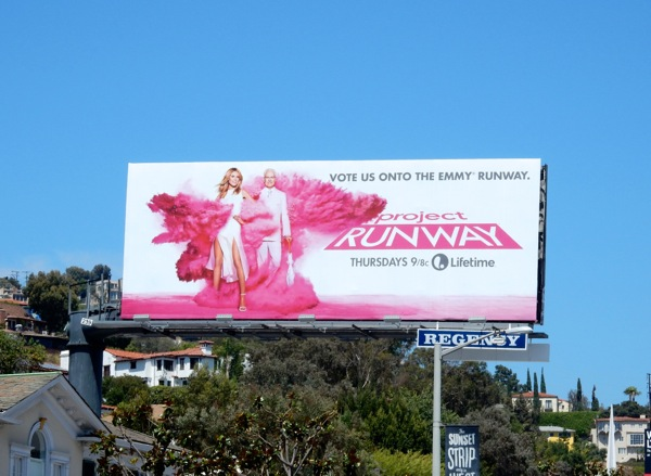 Project Runway season 14 Emmy 2015 billboard
