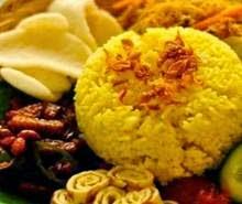 Resep Cara Membuat Nasi Kuning Enak
