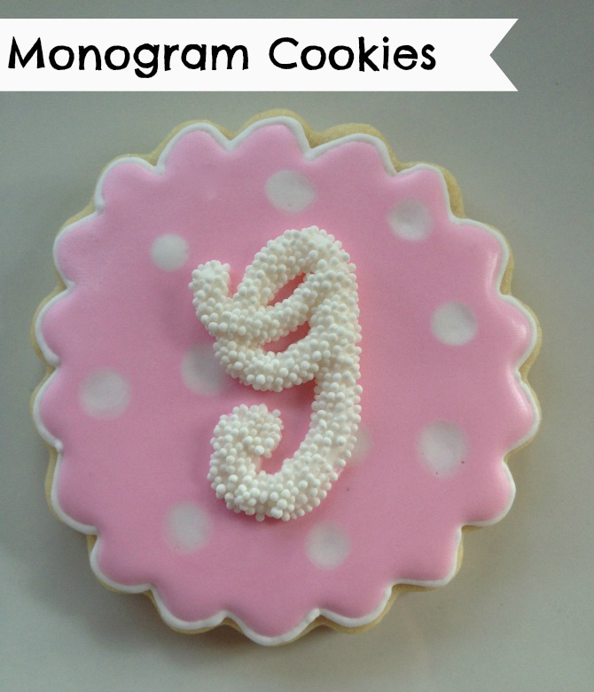 The Holland House: Monogram Cookies