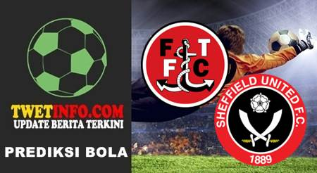 Prediksi Fleetwood Town vs Sheffield United