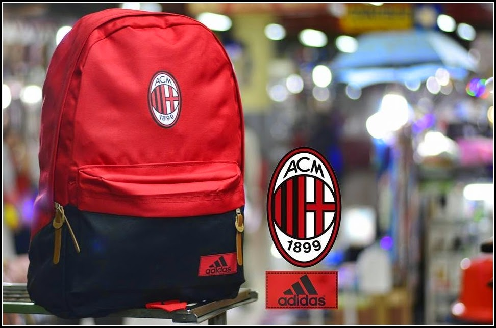 New Backpack atau Tas Bola Type D Ac Milan
