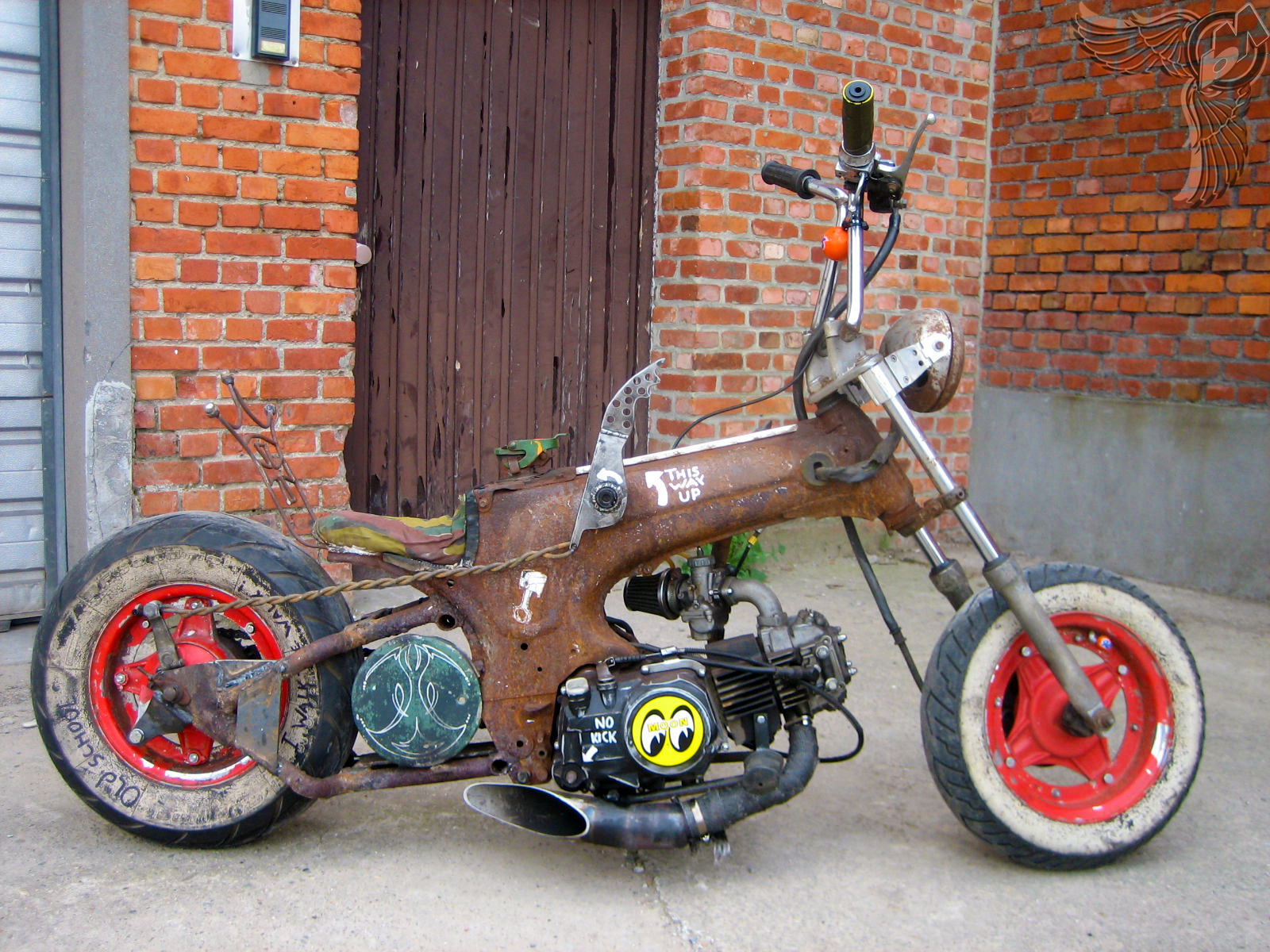 Vintage Mini Bike Chopper : Honda z minibike