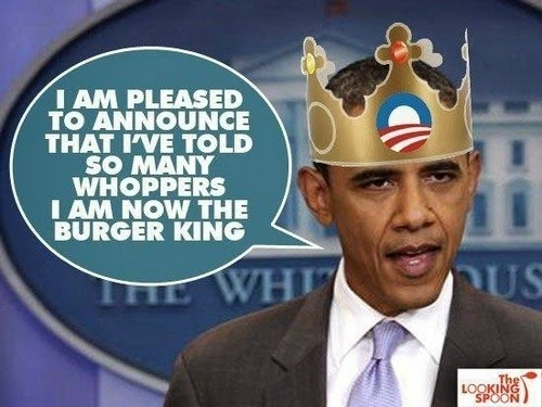 Looking Spoon Obama Told So Many Lies Birther Report