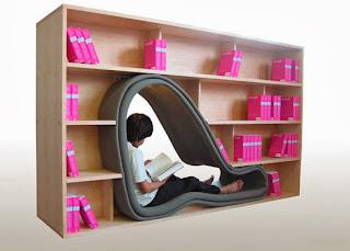 muebles para libros, erase una vez asi
