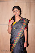 Actress Maneesha Photos in Saree-thumbnail-13