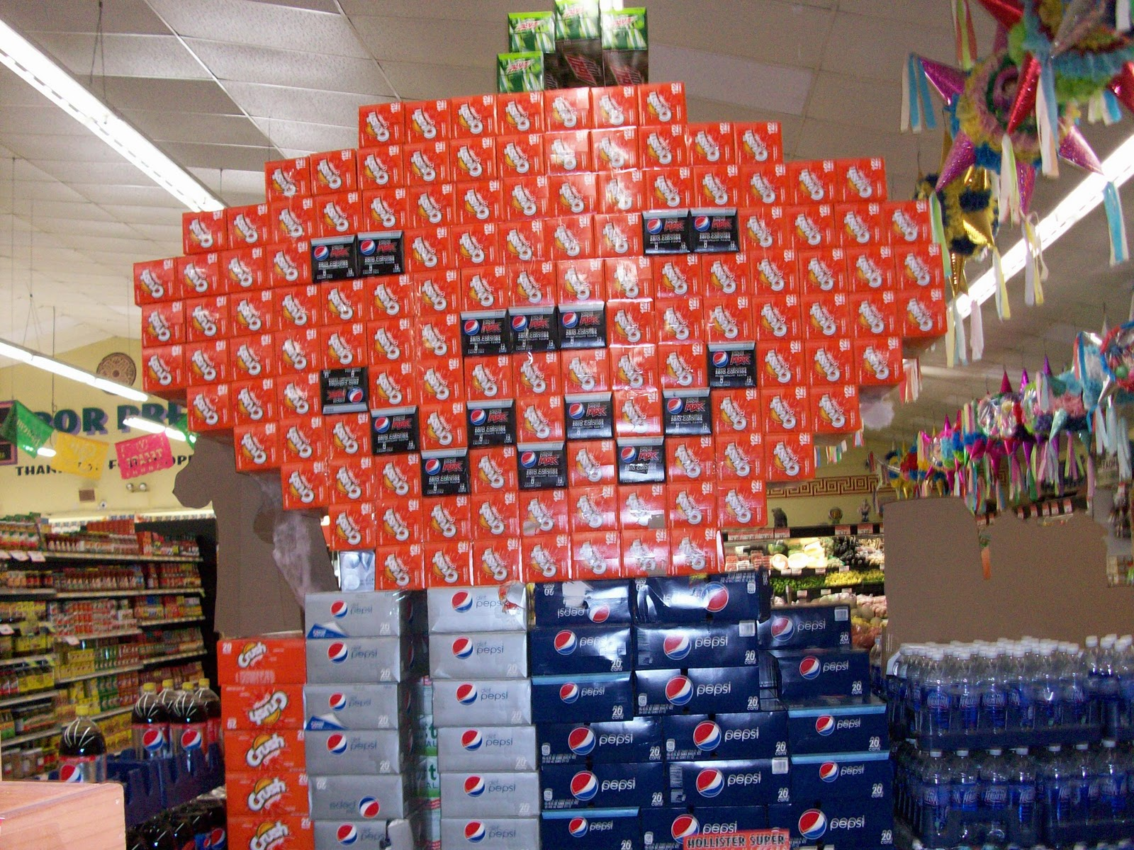 Grocery Store Display