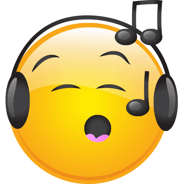 musical smiley symbols amp emoticons