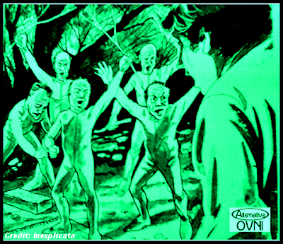 Humanoid Encounters: The Little Green Men of La Plata