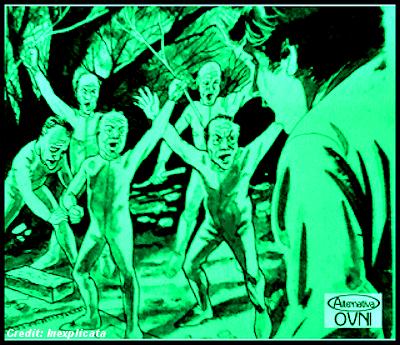 Humanoid Encounters: The Little Green Men of La Plata