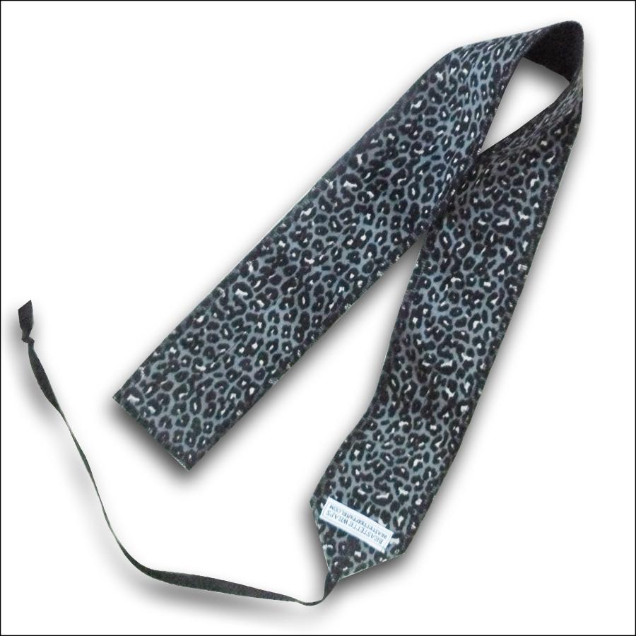 Style Athletics Wrist Wraps Beastette Apparel Gray Leopard