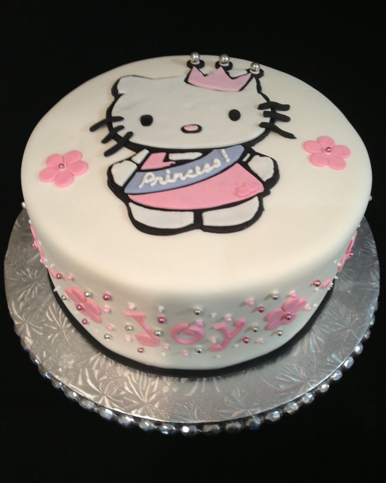 Hello kitty princess cake - Princesse hello kitty ...
