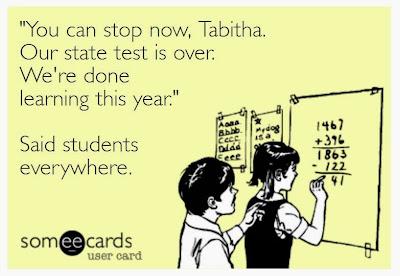 teacher humor, testing humor, school humor