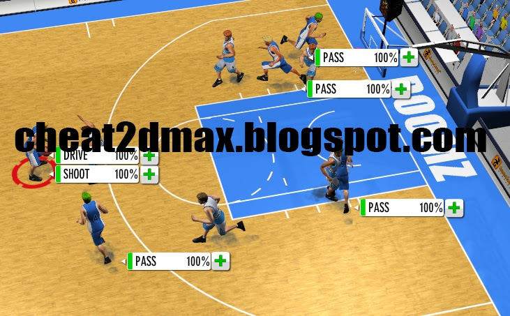 Showstopper Basketball Beta, Cheat 100%, Percent, Chance, Rate, Hack