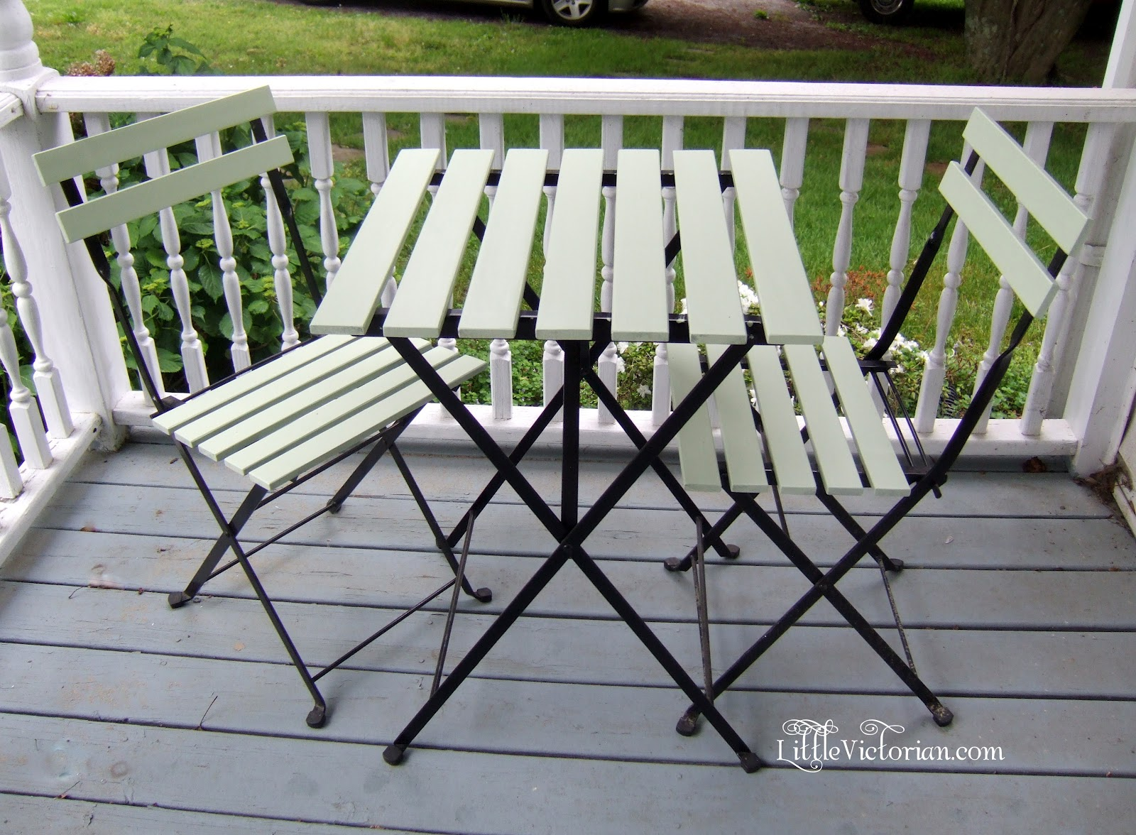 Ikea Who Updated Bistro Set Little Victorian