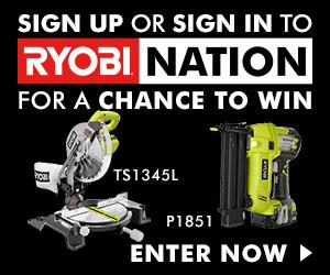 Giveaway: Ryobi Tools